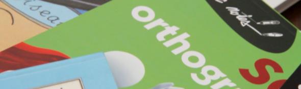 Illustration : orthographe et image de l'entreprise.